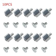 10 Set Hand Tool Mounting Kits Stand Off Screw Hex Nut for A-SUS PC Laptop M.2 SSD Motherboard