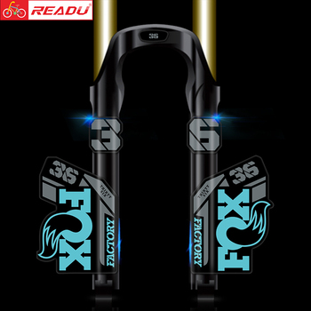 2021 Fox Factory 36 AM Mountain Bike Fork Stickers MTB Mountain Fox 36 Latest Front Fork Decals