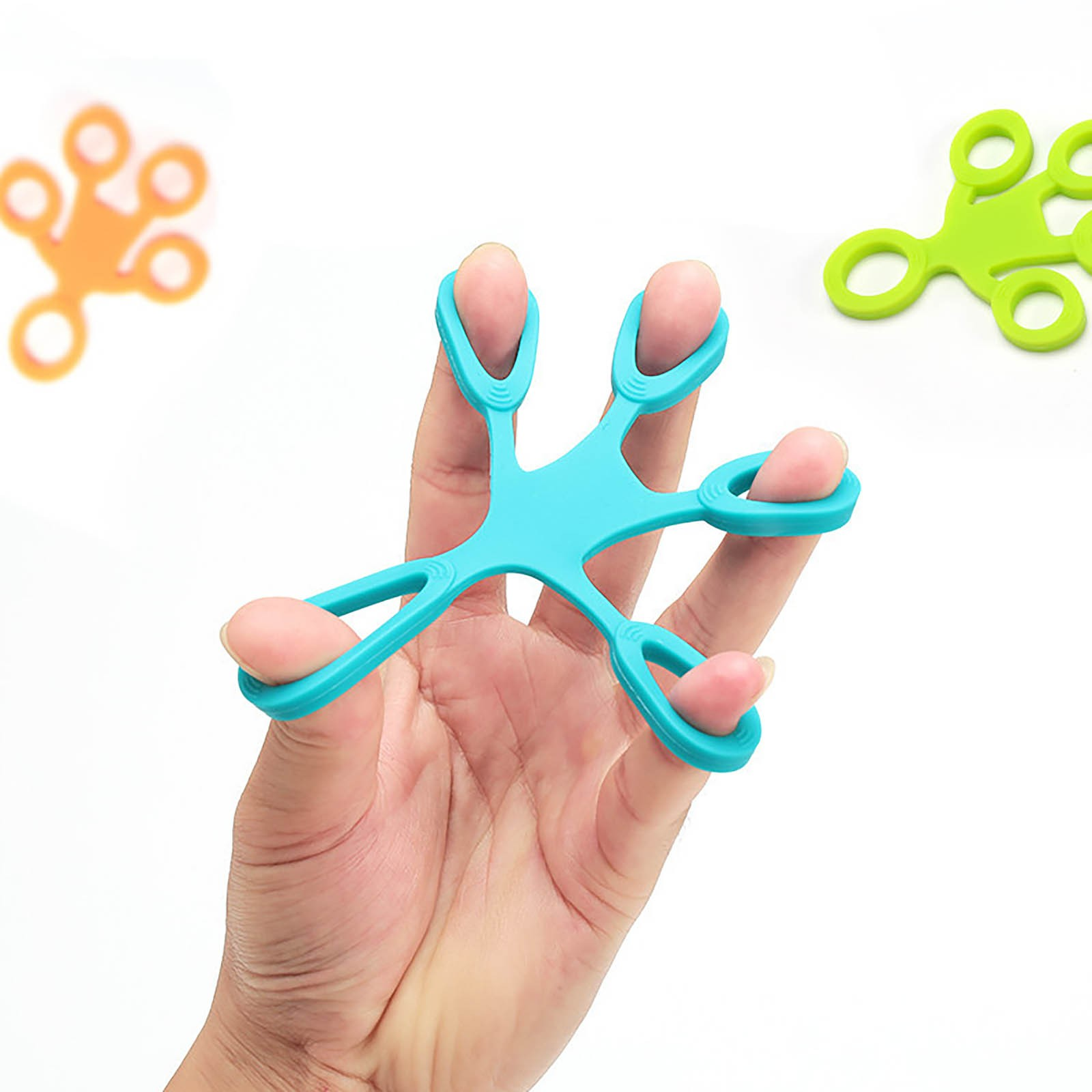 Toys Hand-Ring Finger-Puller Fidget Gifts Antistress Children Silica-Gel Adult for Squish