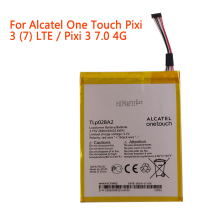 high quality Mobile Phone Battery TLp028A2 For Alcatel One Touch Pixi 3 (7) LTE / Pixi 3 7.0 4G 2820mAh Battery клип кейс alcatel color skin для 9005x pixi 3 желтый