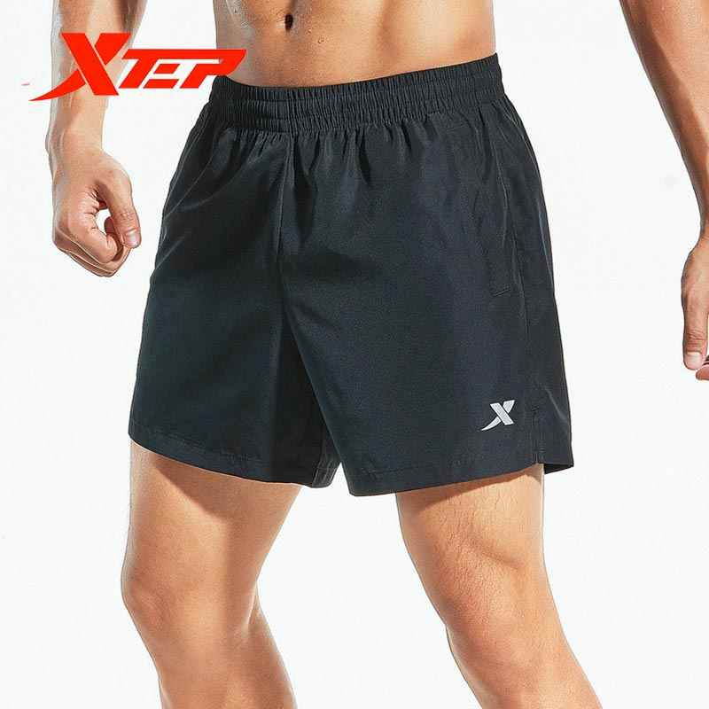 881229679272 Xtep mannen geweven sport shorts 2019 zomer running training shorts ademende elastische shorts