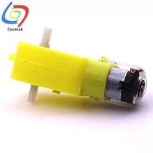 TT Мотор умный автомобильный мотор-редуктор для роботов для комплекта колес умный автомобиль двигатель для шасси DC мотор-редуктор может использоваться для соревнований