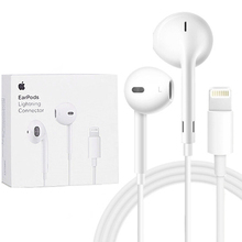Apple EarPods with Lightning Connector In Ear Earphones In-line Remote Microphon