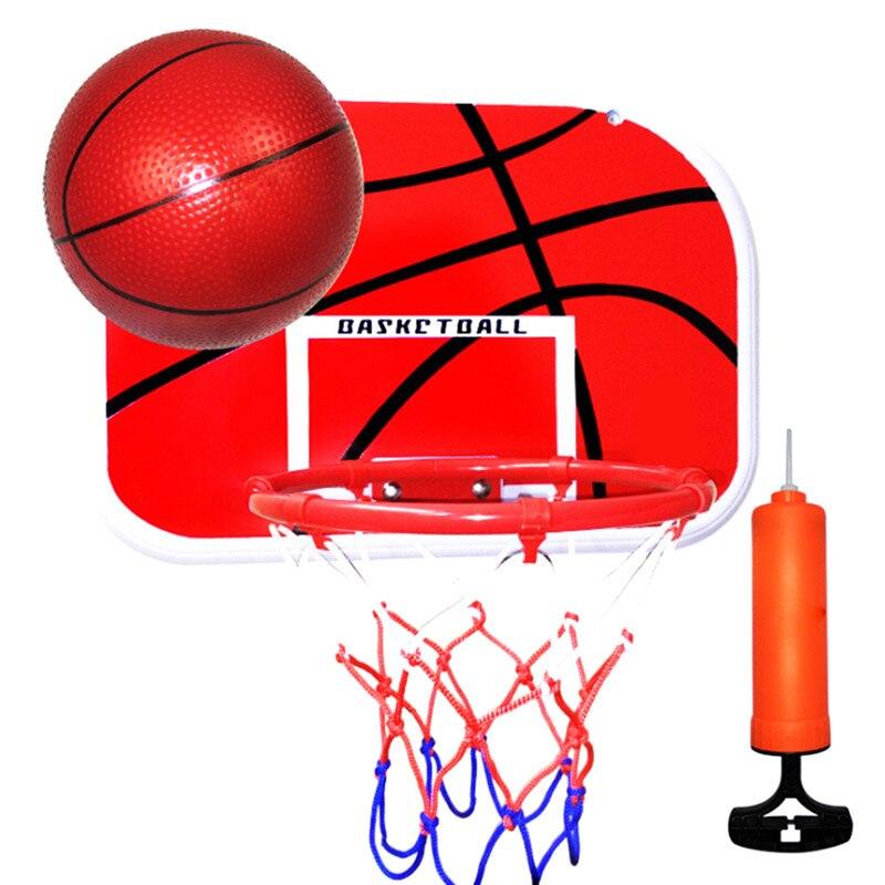 Подвесной баскетбольный обруч для крытой корзины, мяч для двери, мини баскетбольная доска, семейная корзина, детская игра, баскетбольные иг...