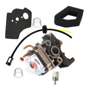 Карбюратор воздушный фильтр для Honda GX25 UL425 UMS425 триммер генератор Замена Карбюратор с прокладкой воздушный фильтр топливная линия Fil