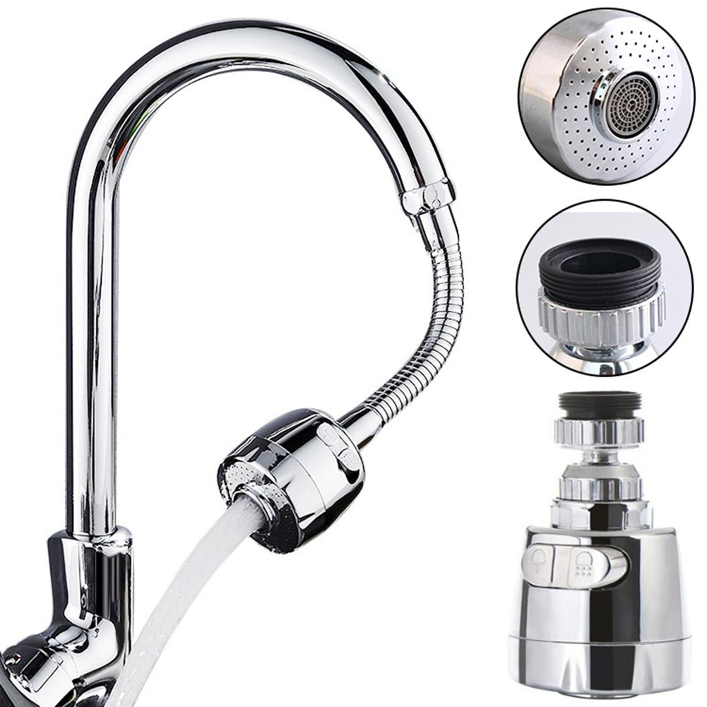 360 Degree Faucet Sprayer Rotary Splash-Proof Kitchen Faucet Sprayers Water Tape Nozzle Kitchen Bathroom Faucet Nozzle