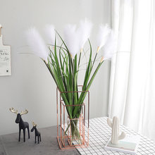 90cm Artificial Flower Simulation Plant Fake Grass Potted Reed Home Office Green Plant Ornaments Wedding Decoration Road guide(China)