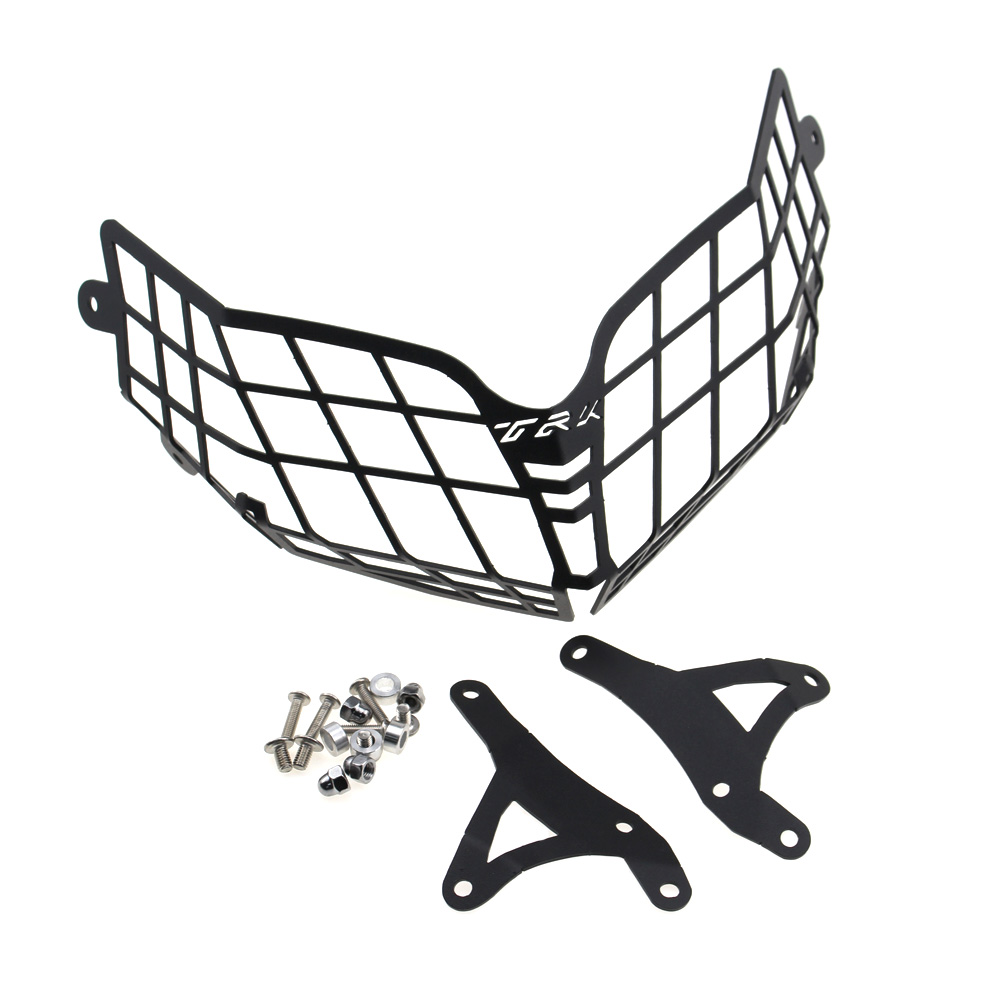 CK CATTLE KING For <font><b>Benelli</b></font> TRK502 <font><b>TRK</b></font> <font><b>502</b></font> Moto Parts Motorcycle <font><b>Accessories</b></font> Headlight Guard Protector Grille Covers image