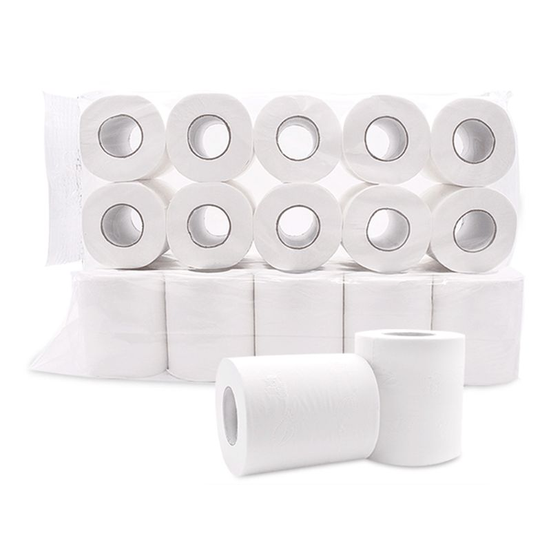 Roll Paper 10/12, Home Household 4 Layers Bath Toilet Roll Paper Toilet Paper 667D