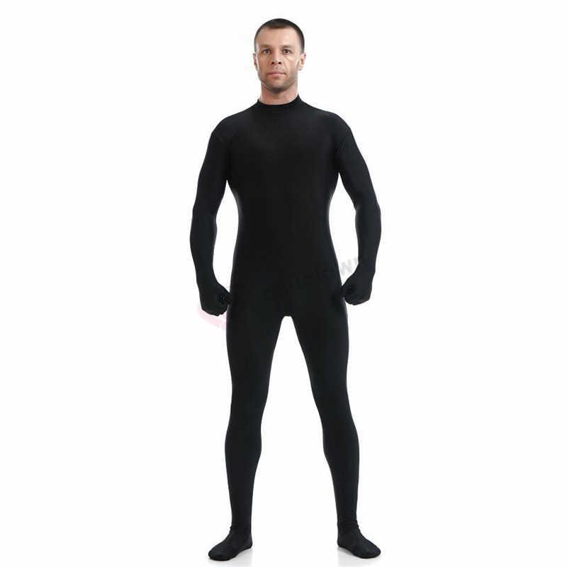 ใหม่ Spandex Zentai ผิวแน่น Jumpsuit Unisex Zentai Bodysuit เครื่องแต่งกายสำหรับสตรี Unitard Dancewear