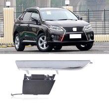 Крышка QX для Lexus RX270 RX350, крышка переднего бампера для прицепа, накладка на ленту, крышка для буксировочного крючка, хромированная накладка, замена корпуса