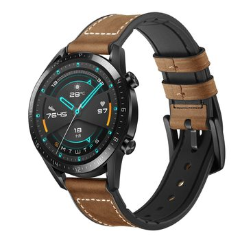 22mm Watrch Band For Huawei Watch GT 2 Strap Gear S3 Frontier Band GT2 46 Leather Bracelet Samsung Galaxy Watch 46mm Strap 22 Mm