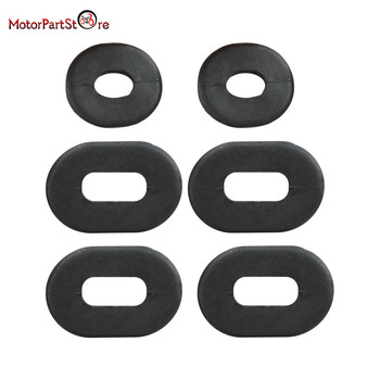 Motorcycle Rubber Side Cover Grommet Set For Honda CB CL SL XL 100 / CB CT SL TL XL 125/CB 200 500 550 750 Replace 17247-303-000 image