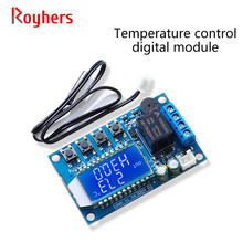 1 pçs ZZ-T01 digital termostato display digital interruptor de controle temperatura aquecimento e refrigeração módulo controle com tela