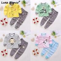 Детские пижамные комплекты с длинным рукавом - 646₽ #1