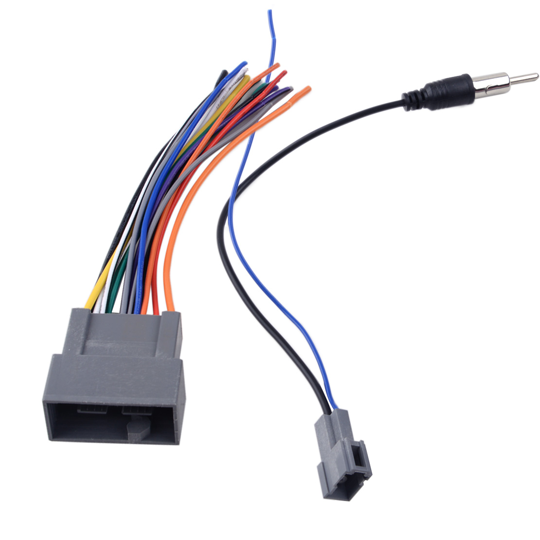 DWCX 2 pcs <font><b>Radio</b></font> Stereo Wire Wiring Harness Cable Antenna <font><b>Adapter</b></font> Fit For <font><b>Honda</b></font> Civic CRV Odyssey <font><b>Jazz</b></font> Acura TSX image