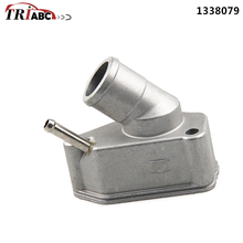 цена на THERMOSTAT Coolant With Housing For OPEL Astra H 2.0 Turbo Calibra Omega Vectra Zafira B 2.0 Suv SINTRA Vauxhall Astra 1996-
