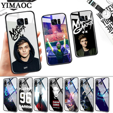 DJ Martin Garrix Music note Glass Case for Samsung S7 Edge S8 S9 S10 Plus S10E Note 8 9 10 A10 A30 A40 A50 A60 A70 стоимость