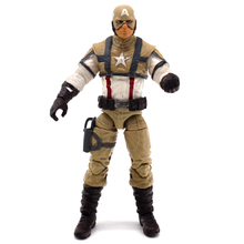 7 Style 3.75 inch Captain America PVC Action Figure Comic Mo