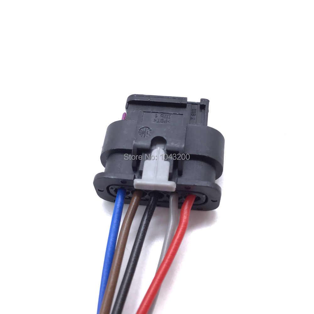 Autoelektrik AUDI Mass Air Flow MAF Connector 5 Pin 4F0973705 ...