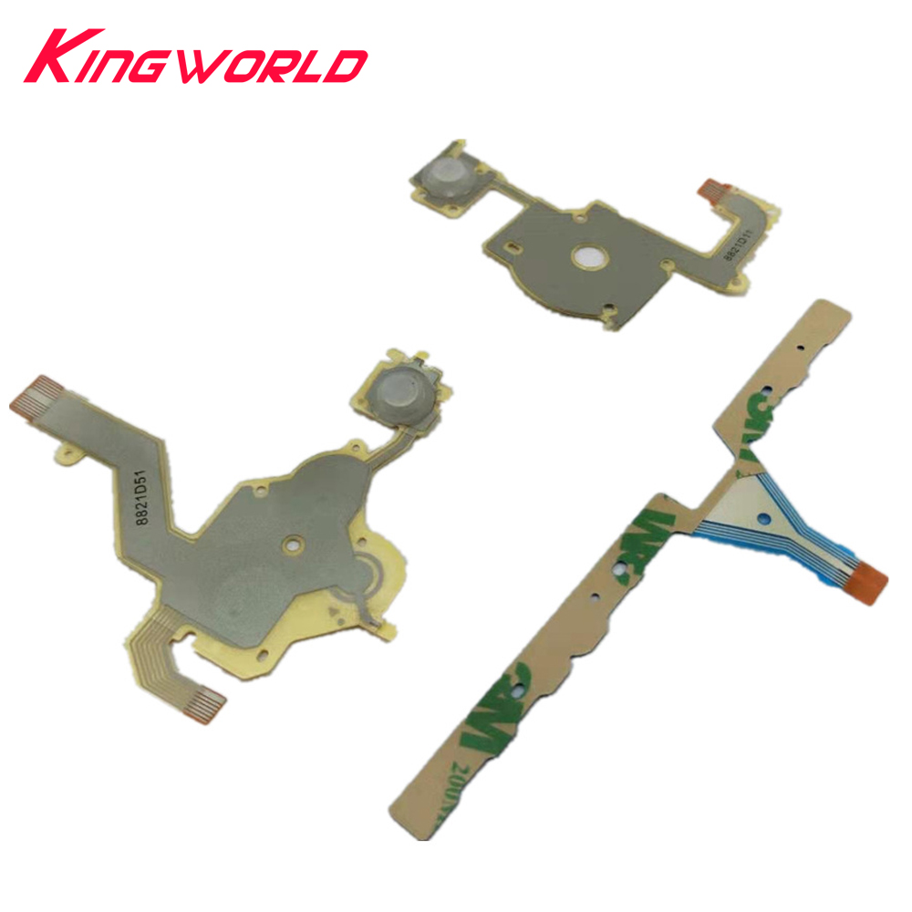 Direction Cross Button Left Right Key Volume Flex Cable Replacement For Sony PSP 3000 Game Conductive Film
