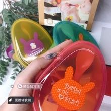 Hogokids портативная миска для еды+ ФУ ШИ Шао, посуда для седла для маленьких детей