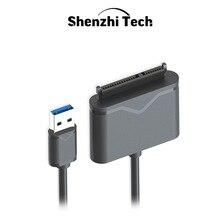 """Adaptateur SATA vers USB 3.0, câble pour disque dur externe SSD de 2.5 et 3.5"""""""