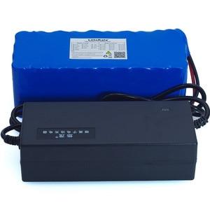 Image 5 - Batteria ricaricabile 36V 8Ah 10S4P 500w 18650, biciclette modificate, protezione per veicoli elettrici 36V con caricabatterie BMS 42v 2A