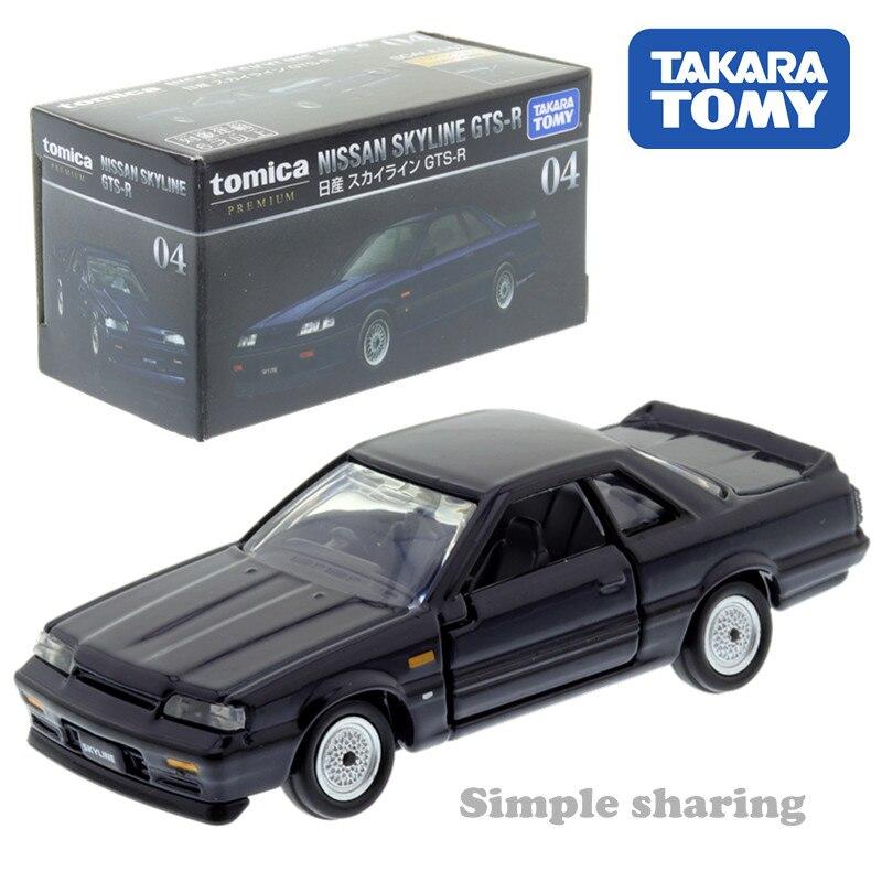 Takara Tomy TOMICA Premium No. 04 Nissan Skyline GTS-R 1:62 Diecast Toy Car