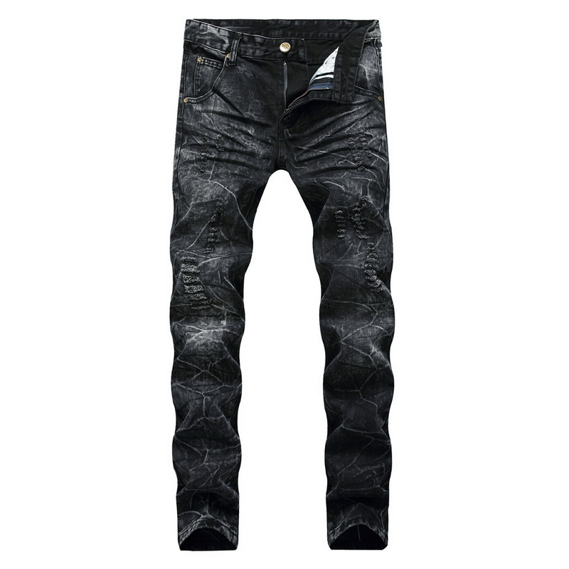 Denim Design Jeans High Quality FOR Men Size 28-38 40 2020 Autumn Winter Plus Velvet HIP HOP Punk Streetwear