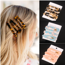 3PCS/Set Fashion Acetate Geometric Hair Clips For Women Girls Headband Sweet Hairpins Barrettes Accessories for women