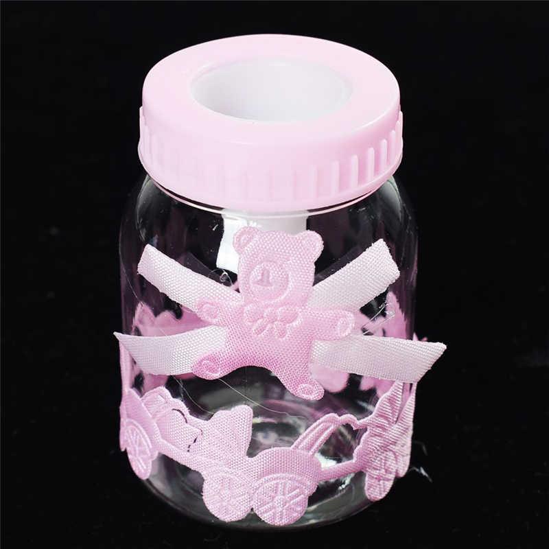 1 sztuk Baby Shower cukierki Box butelka urodziny Party dobrodziejstw prezent na boże narodzenie ślub dekoracje, prezenty dla gości dziecko pudełko cukierków na urodziny