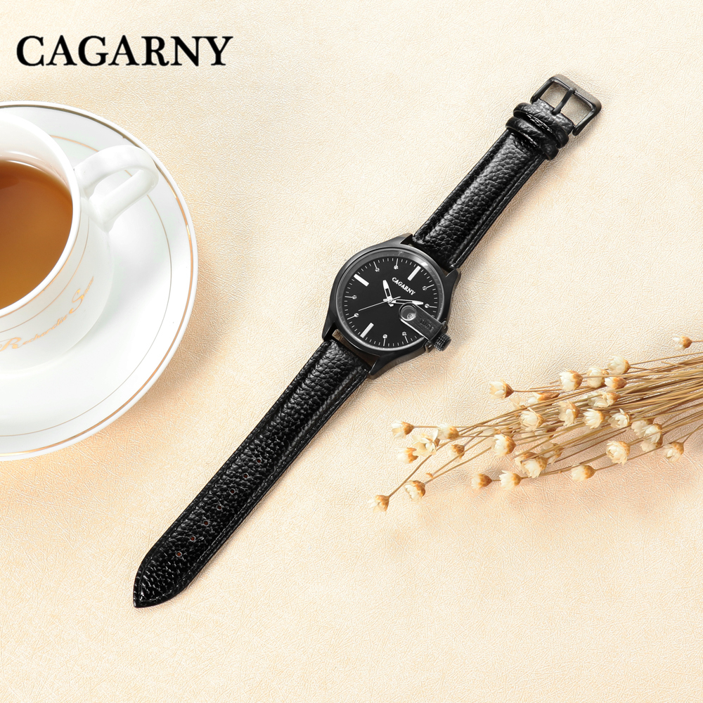 drop shipping cagarny women watches high quality wristwatches auto date waterproof free shipping ladies clock female 2020 gifts (25)