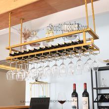 Light Goblet-Rack Wine Household Upside-Down Restaurant Creative Luxury