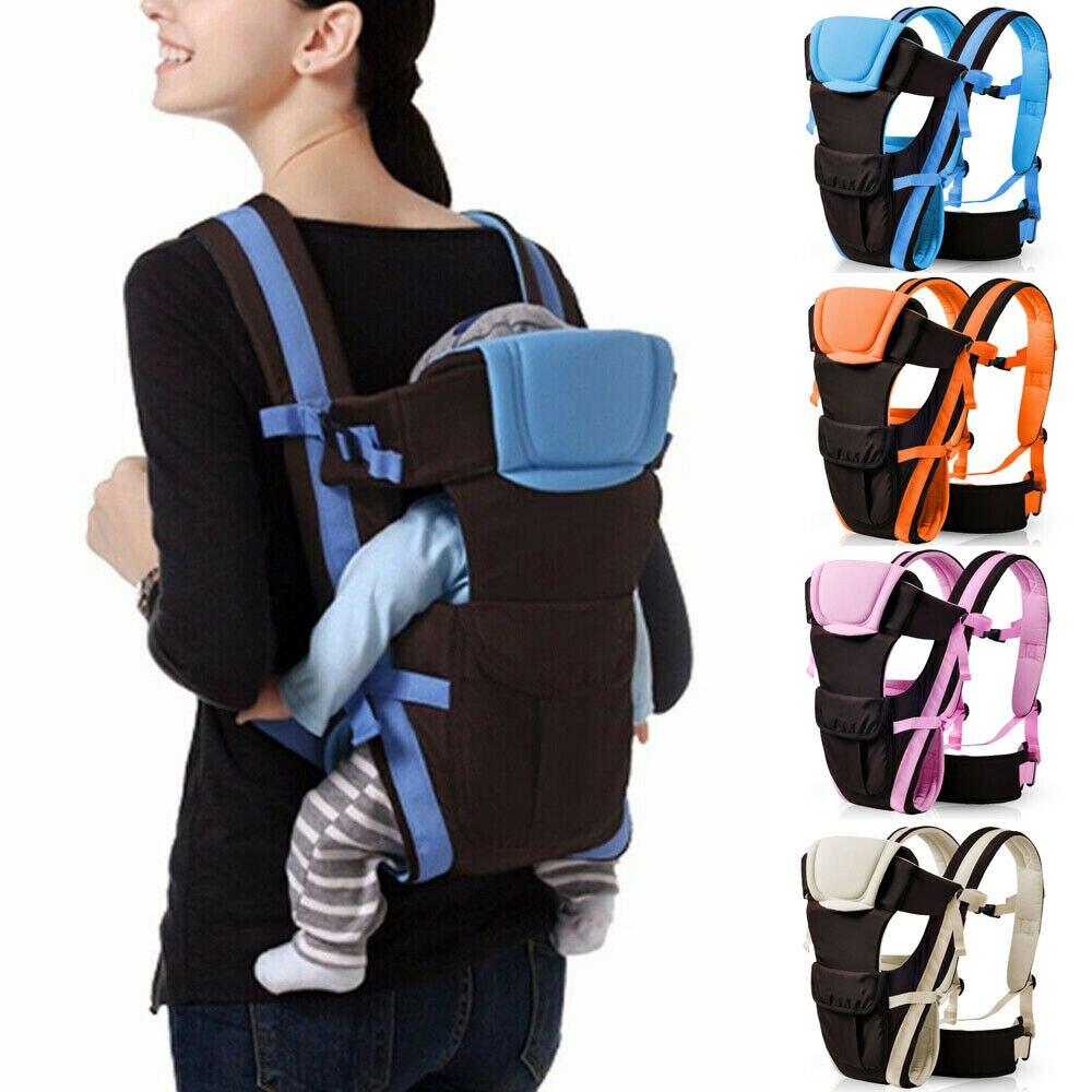 portador de bebe recem nascido da crianca respiravel ergonomico ajustavel envoltorio sling mochila portador de bebe