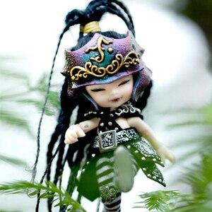 Image 1 - Darmowa wysyłka Fairyland Realpuki AKIa1/13 lalki BJD różowy uśmiech elfy zabawki dla dzieci prezent dla chłopców dziewcząt urodziny