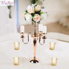 Metal Candlestick Candle Holder Wedding Decoration Table For Events Rustic Party