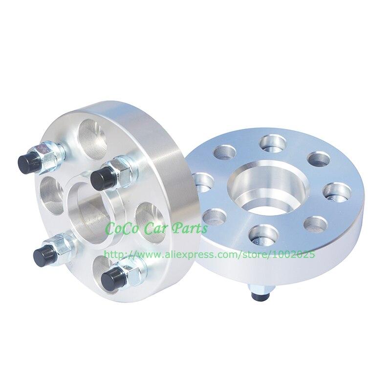 Kode Shop-Hubcentric Bolt On Wheel Spacer Adaptor 4x100 56.1 30mm M12x1.5 Honda