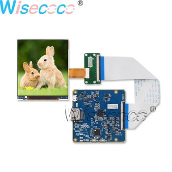 Wisecoco 3.5inch LCD Screen 1440×1600 resolution 615 PPI IPS 90HZ Display LPM035M407B HDMI to MIPI Driver Board for HMD VR AR