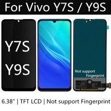6.38 TFT LCD עבור Vivo Y9S / Z5 / Y7s LCD תצוגת מסך מגע Digitizer עצרת להחליף עבור vivo IQOO NEO 855 LCD