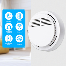 Independent Fire Alarm Sensor 85 dB Smoke Detector Smoke Fire Detector Tester Home Security System for Kitchen