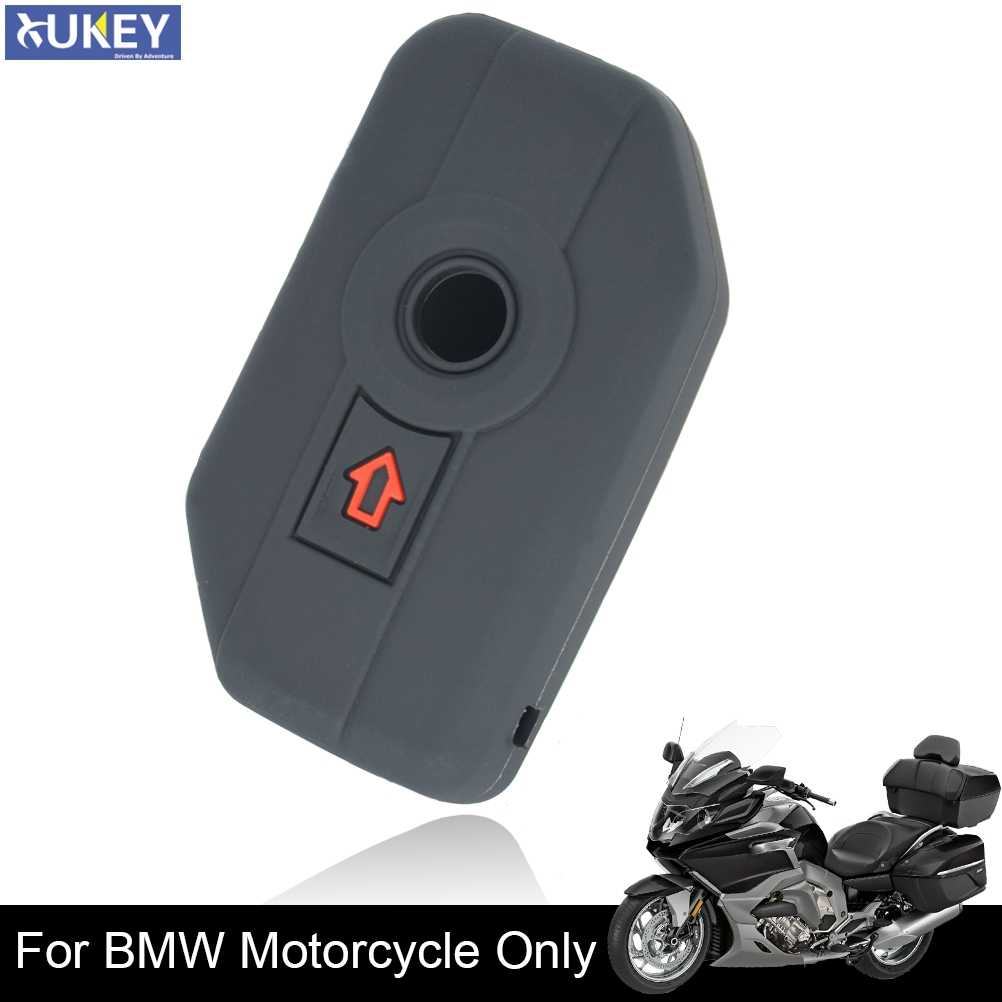 Silicone Key Shell Case Fob Cover Voor Bmw K1600GT R1200GS Lc Adv R1250GS Adv F750GS F850GS 2 Knop Afstandsbediening keyless