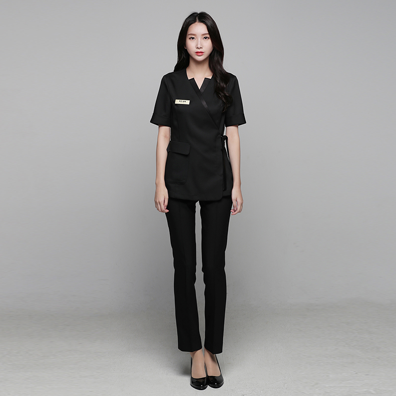 Summer high-end spa health club beauty salon set beautician front desk uniform female plastic surgery hospital