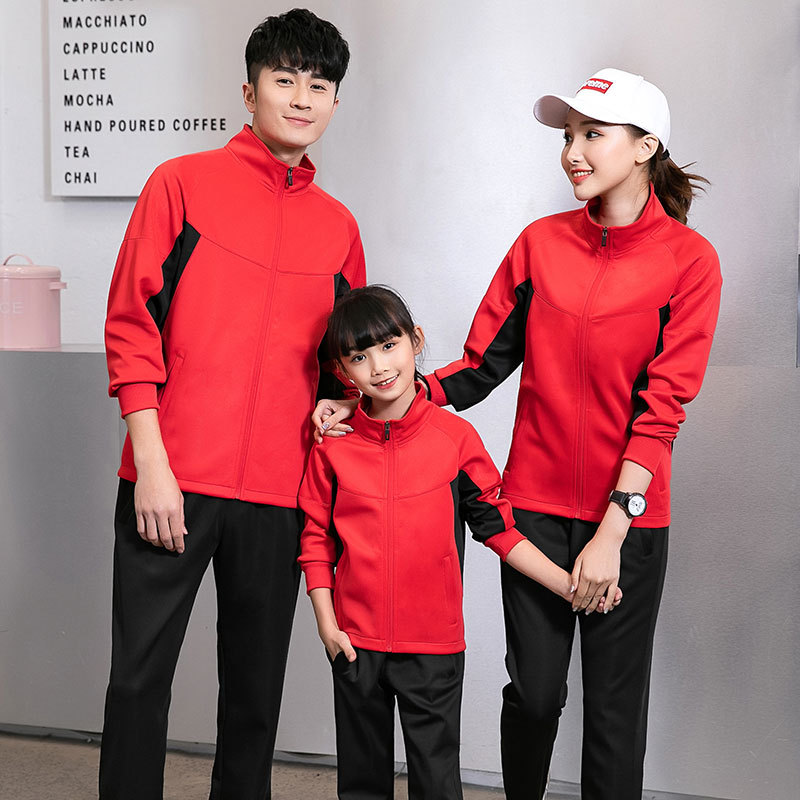 Spring And Autumn Couple Clothes New Style Students Loose-Fit Leisure Sports Suit WOMEN'S Hoodie Nan Fu Zhuang Two-Piece 2119