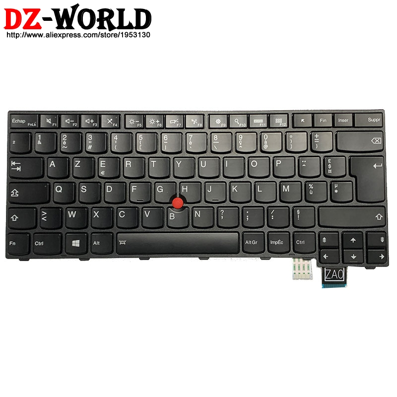 New/orig French Backlit Keyboard For Lenovo Thinkpad T460S Laptop Backlight Teclado 00PA545 00PA463 01YR099 01YT153