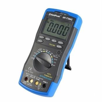 Multimetro HoldPeak Digital Auto Range Multimeter AC DC Voltage Meter Measurement Temperature/ Frequency/ Duty Cycle/ True RMS fluke 101 auto range digital multimeter for ac dc voltage resistance capacitance and frequency measurement