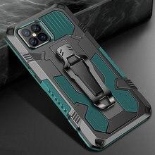 Coque de protection hybride robuste avec Clip de ceinture pour iPhone, compatible modèles 6 S, 7, 8, 12 pro, 11 Pro Max, XR, XS, XR, SE, 11, 2020