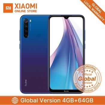 Global Version Xiaomi Redmi Note 8T 4GB 64GB Smartphone 48MP Quad Camera 4000mAh Big Battery Snapdragon 665 Support NFC Phone