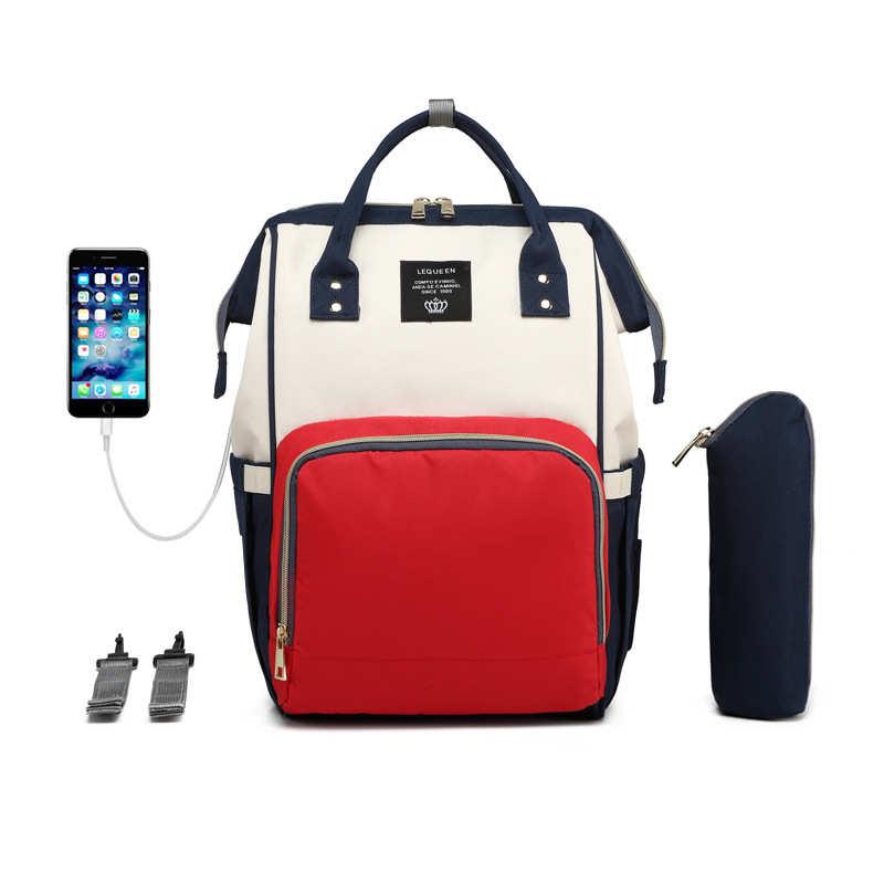 Сумка для подгузников рюкзак для ухода за ребенком