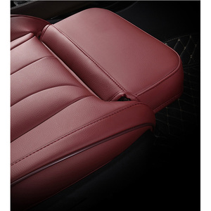 Image 4 - Leather custom car seat covers For Audi A6L Q3 Q5 Q7 S4 A5 A1 A2 A3 A4 B6 b8 B7 A6 c5 automobiles car accessories